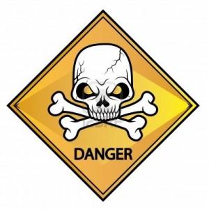 11312302-skull-segnale-di-pericolo